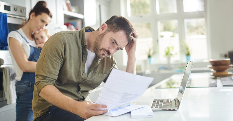 A Boston couple receiving an insurance denial letter