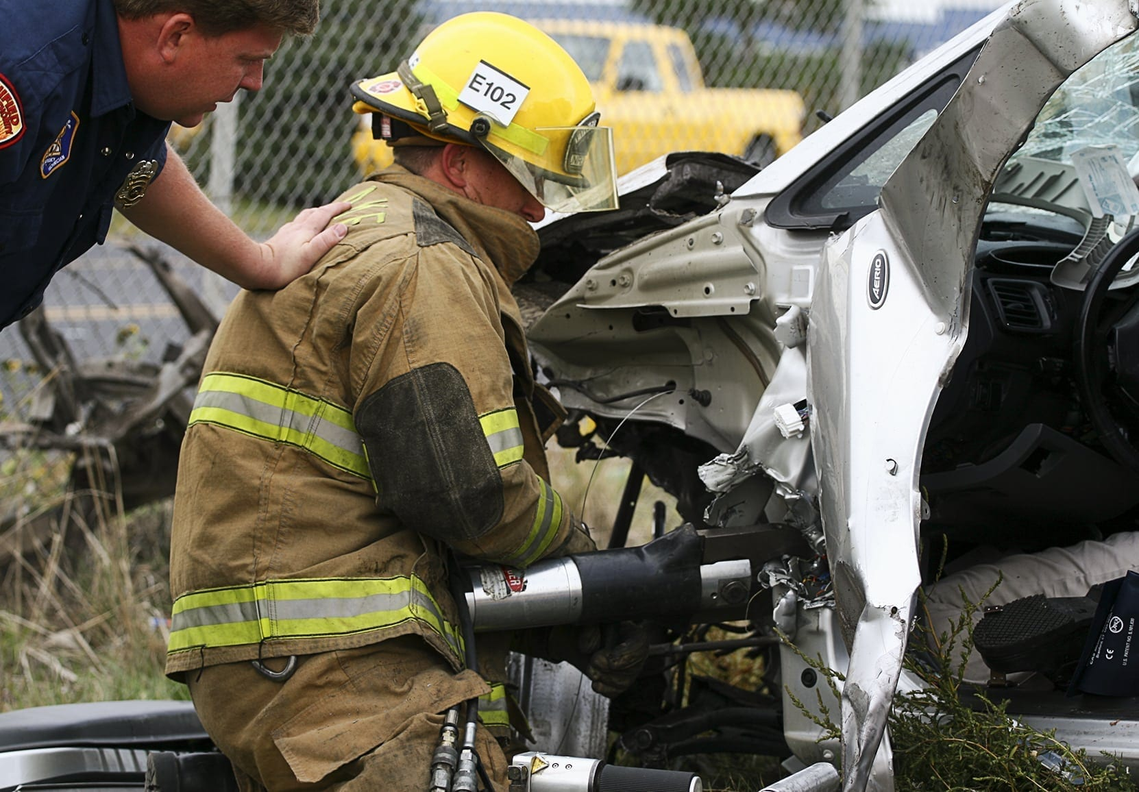 Jaws Of Life Stock Photo