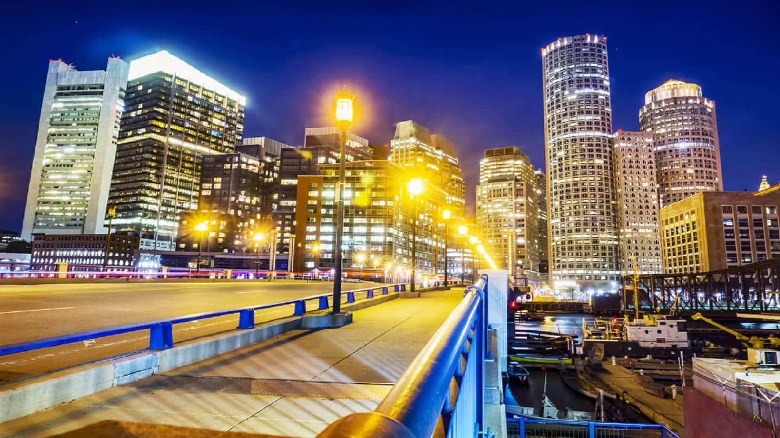 Downtown Boston, Massachusetts Skyline
