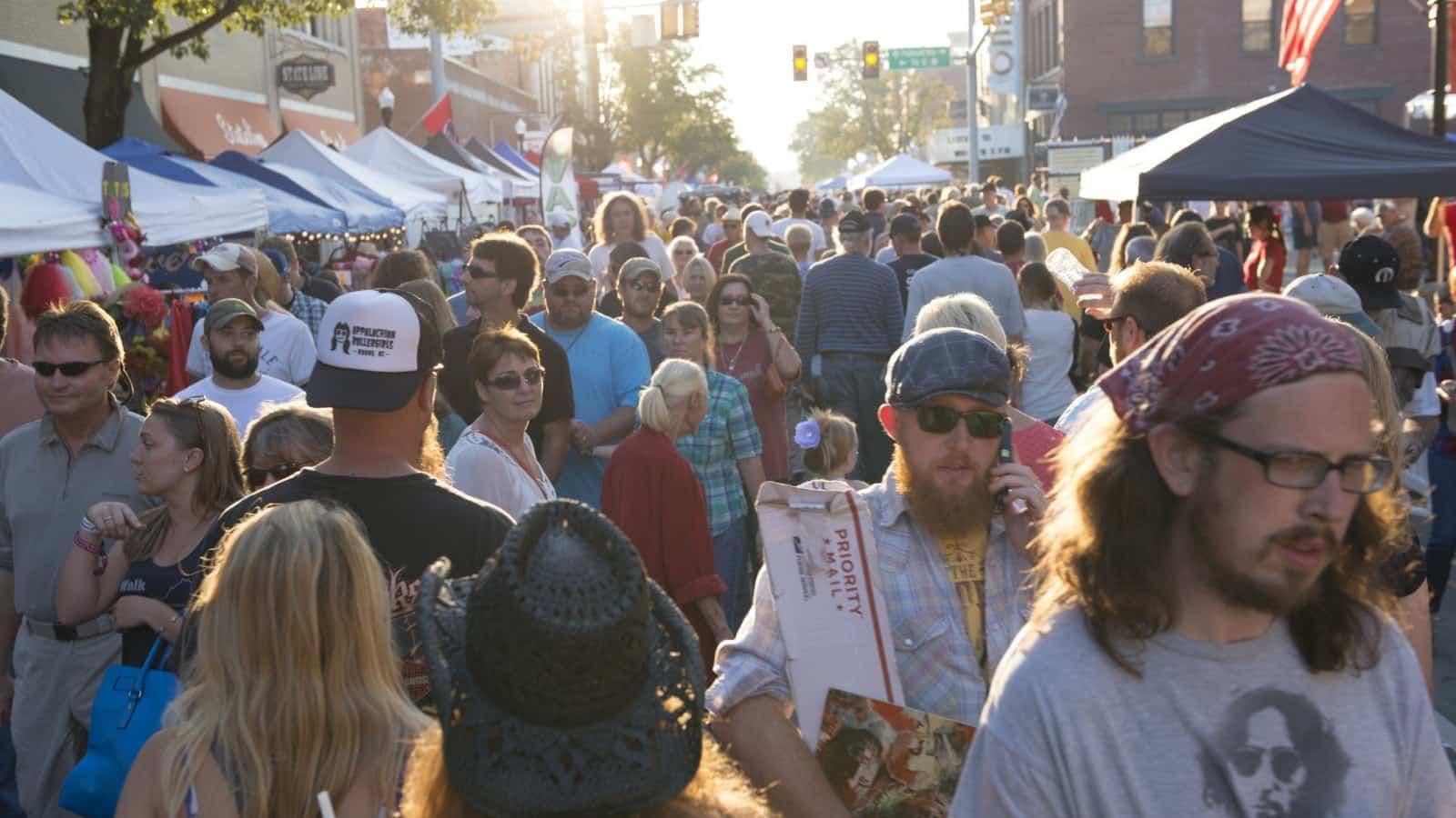 Large Festival Stock Photo